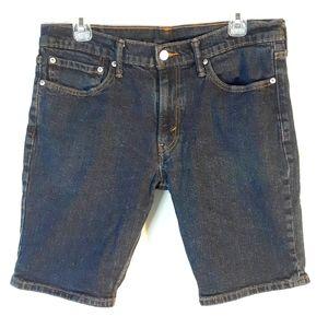 """Levi's 511 denim shorts jorts like new 34"""" waist"""